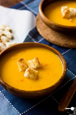 Pumpkin Chilli and Coconut Soup