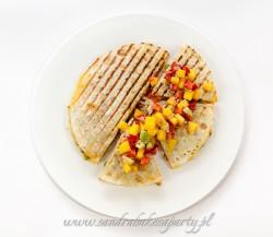 Quesadillas z wieprzowiną