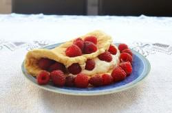 razowy omlet biszkoptowy