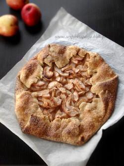 rustykalna tarta jabłkowa