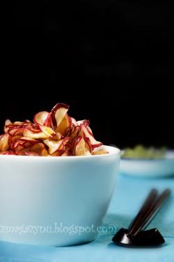 Rzodkiewki i sos sojowy