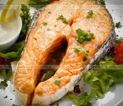 Stek z łososia z pieprzem