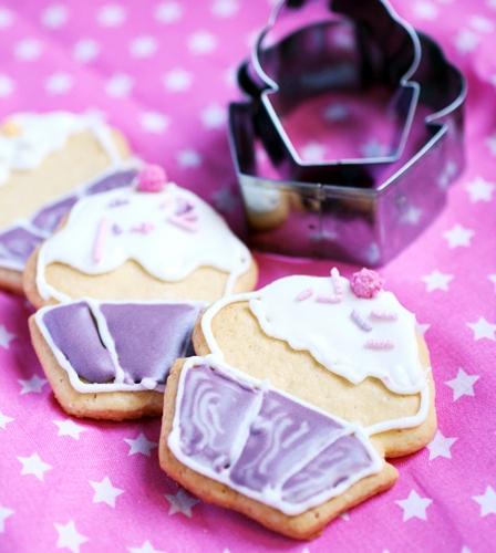 sugar cookies cupcake royal icing