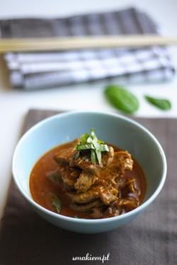 Tajskie curry z wieprzowiny z kurkumą