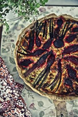 tarta z botwinka i serem