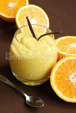 Waniliowy orange curd