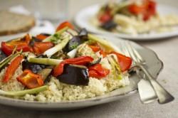 Warzywa po Marokańsku z Sosem Tahini