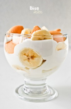 Yogurt with banana