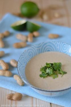 Zupa fistaszkowa
