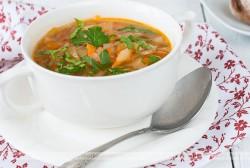 Zupa jarzynowa z koncentratem pomidorowym