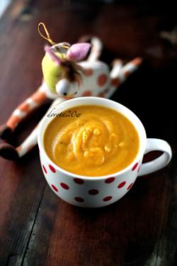 Zupa krem marchewkowy od 7 miesiąca