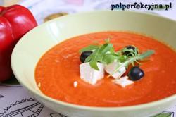 Zupa krem z papryki