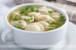 Zupa rybna z Pierożkami