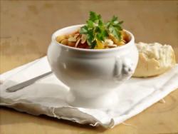 Zupa z ciecierzycą i dynią. Jeszcze na rozgrzewkę :)