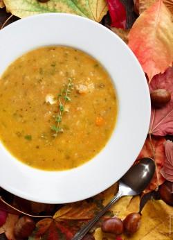 zupa z kasztanami