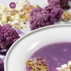 Zupa z fioletowego kalafiora FIT