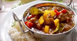 Łatwe curry z mango i kurczakiem