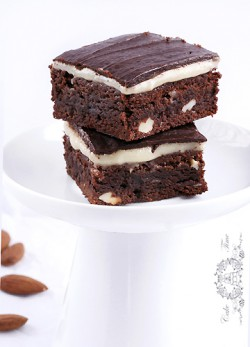 Brownies z marcepanem