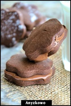 Ciasteczka kakaowo-kakaowe