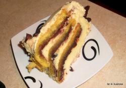 Tort zwijany rolada
