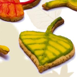 Ciastka-jesienne liście