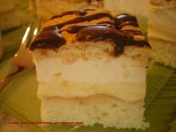 Ciasto cytrynowe z kremem budyniowym
