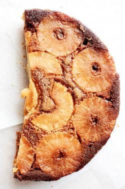 ciasto z ananasem i karmelem