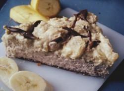 sernik BANANOWO- czekoladowy