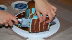 Torebka – tort czekoladowy