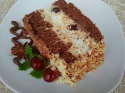 tort cappuccino z kokosem Siostry Anastazji