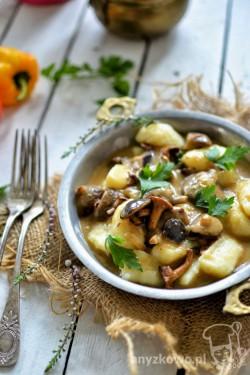Gnocchi w sosie grzybowym