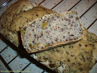 Chleb z oliwkami bezglutenowy