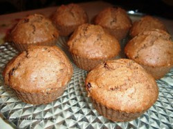 muffiny piernikowe, bezglutenowe