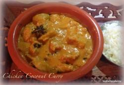 Curry z kurczaka z mlekiem kokosowym
