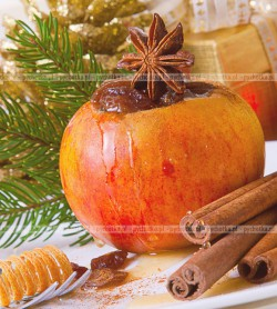 Jabłka w cynamonie