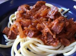 Wege spaghetti na winie