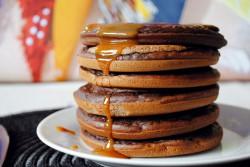 Kakaowe pancakes!