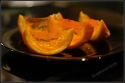 Galaretka w pomarańczce