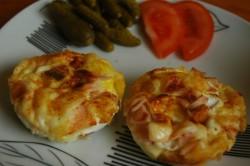 Jajeczne muffinki na śniadanie