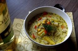 lekka zupa z letnich warzyw