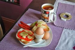 Leniwe śniadanie
