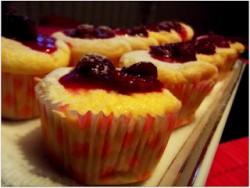 Muffinki sernikowe na pamiątkę miłego spotkania