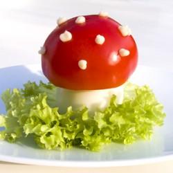 Muchomory z jajek, fajny pomysł na Wielkanoc