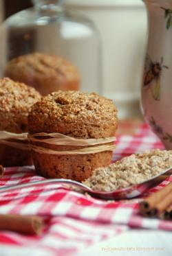 Muffiny otrębowe z cynamonem
