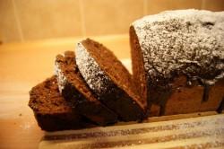 Murzynek z czekoladową polewą