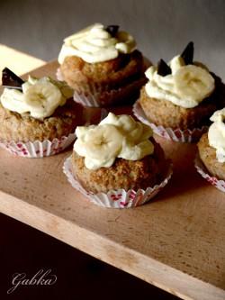 Najlepsze muffiny. Owsiane, z bananem- na chandrę.