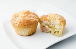 Najlepsze muffiny z rabarbarem