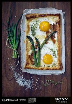 Śniadaniowa tarta
