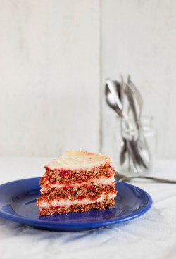 No Bake Red Velvet Cake