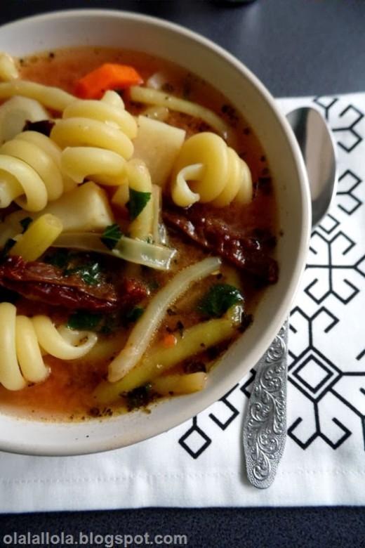 zupa z fasolki szparagowej